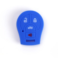 Silicone key fob cover for nissan 4 buttons