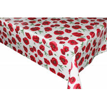 Pvc Printed fitted table covers Boho
