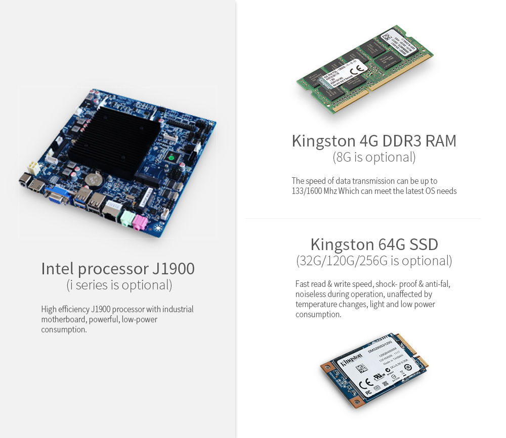 kingston RAM and SSD