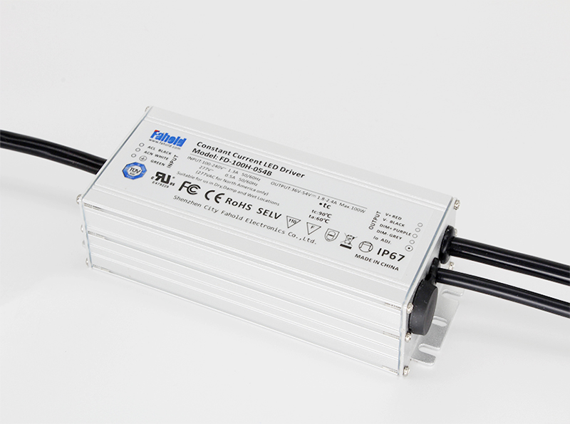 LED Driver With Optiaonal Dimming
