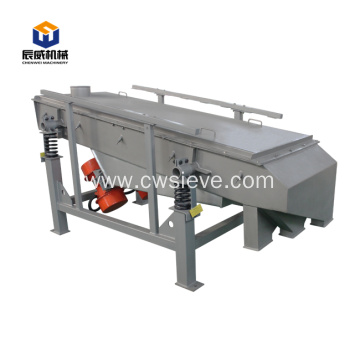 plastic particles powder linear vibrating screen