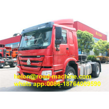 High Quality for Howo Prime Mover Tractor Truck Head 6 Wheels 290HP Prime Mover supply to Qatar Factories