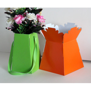 Professional factory selling for Plant Sleeve Paper floral packaging box export to China Wholesale