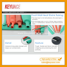 Good Quality for Dual Wall Adhesive Lined Plastic Tubing Dual Wall PVC Heat Shrink Tubing with Adhesive export to Portugal Factory