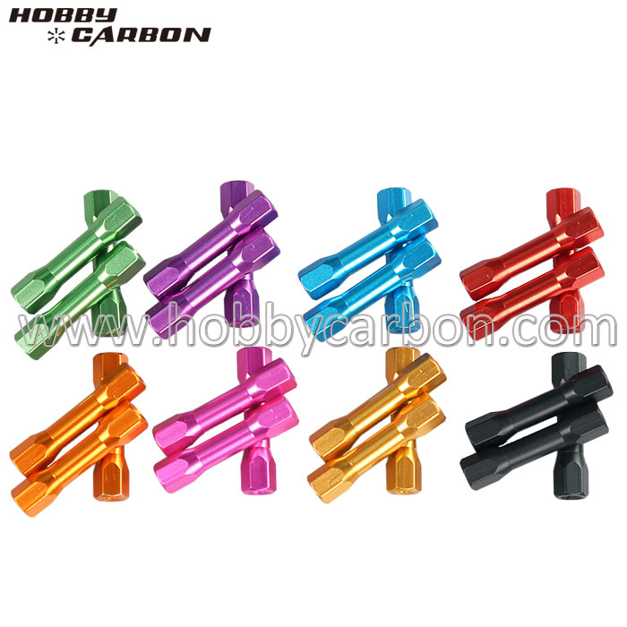 Durable Anodized Hex-step Standoffs