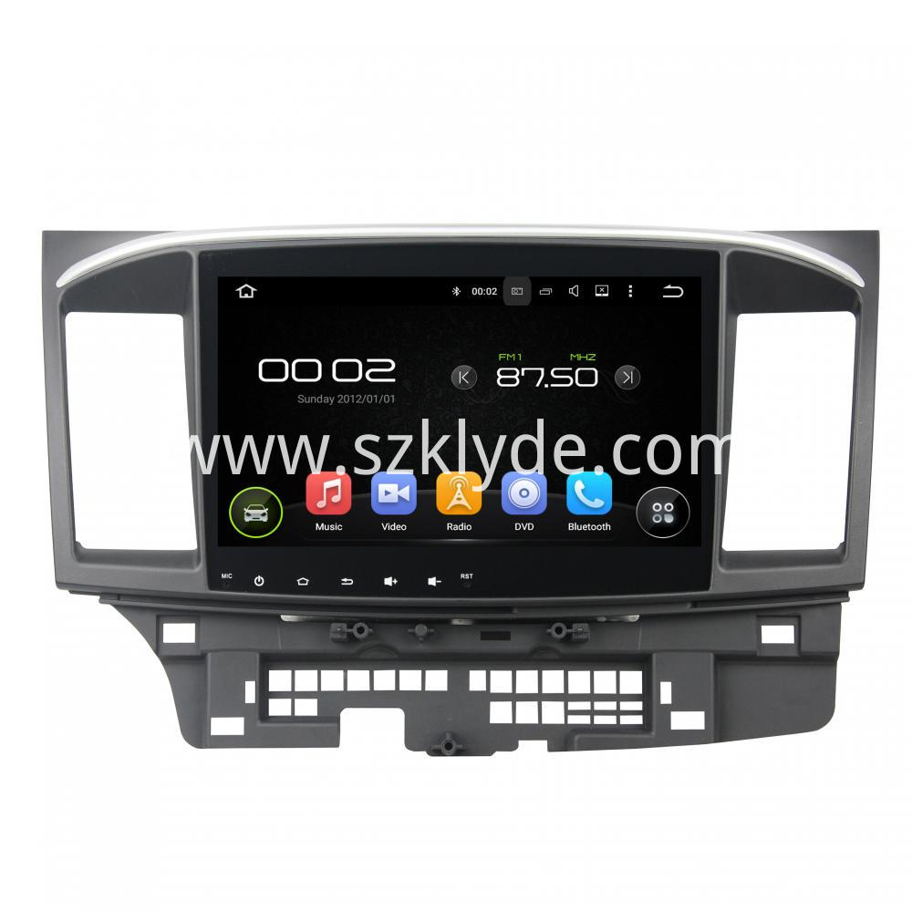 10 1 Inch Car Dvd For Mitsubishi Lancer