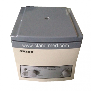 Portable Medical School Hematocrit Centrifuge  Of SH-120