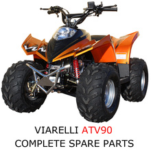 Viarelli ATV 90cc Part Complete Parts