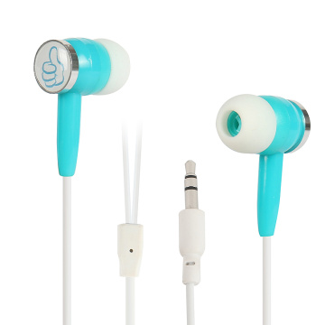 Custom logo mobile in ear earphone