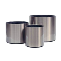 304 Stainless Steel Metal Conical Fowerpot