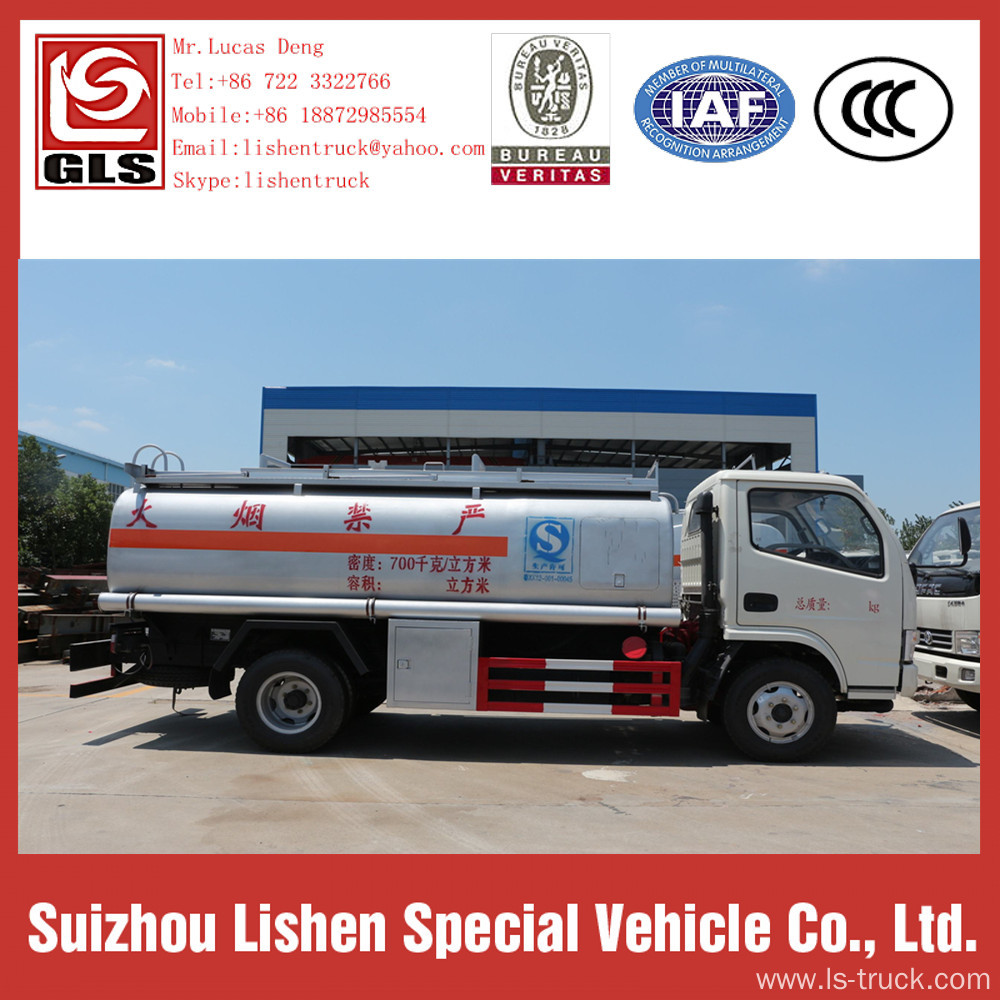 Oil Tanker Refuelling Truck Fuel Bowser