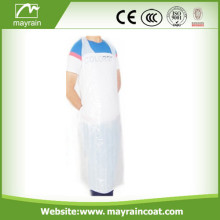 White Color PE Apron