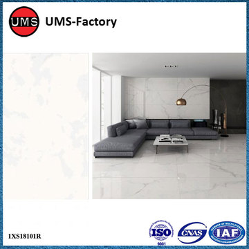 Faux white marble wall tiles squares