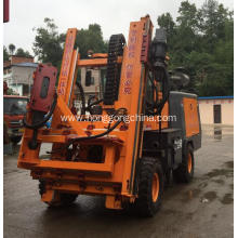 Manufacturing Companies for Highway Guardrail Maintain Machine Highway Guardrail Pile Driver for Plateau Area supply to Turkey Manufacturers