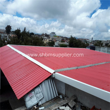 Eco-Friendly Fireproof Film-coated Reinforced MgO Roof Sheet