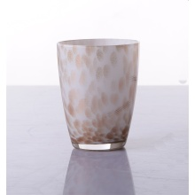 Customized Glass Goblet Blown Cup