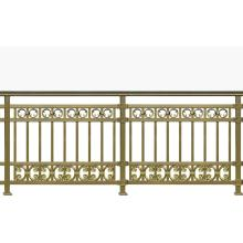 Golden Rhythm Aluminum Balcony Fence