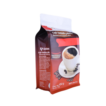 Laminated Material Customized Healthy  Recyclable Snack Packaging Coffee Bags