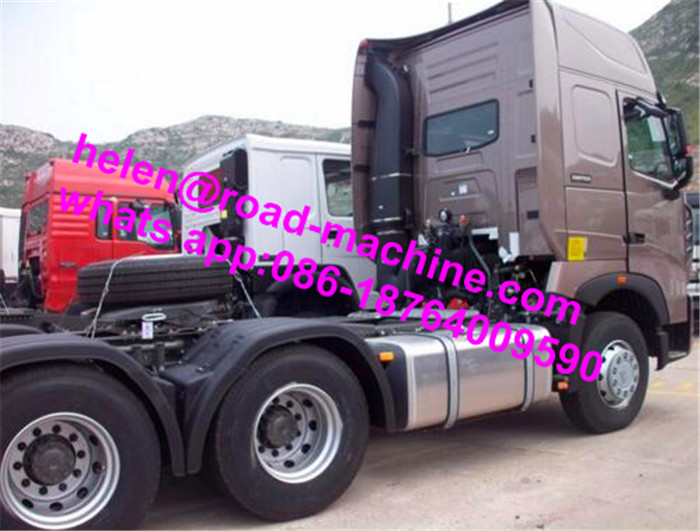 6X4 Tractor Head Prime Mover With Trailer