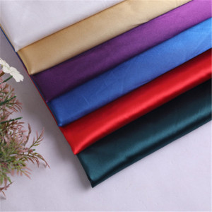 Polyester Silk satin fabric