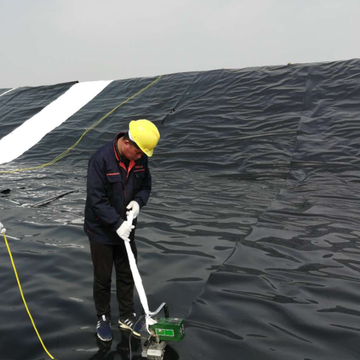 0.75 mm HDPE Geomembrane for Shrimp farming Pond Liner