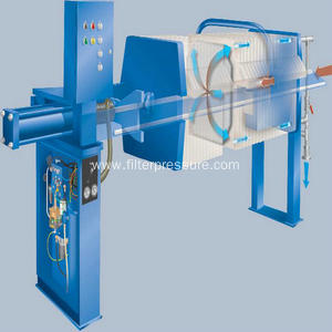 Cast Iron Material Filter Press Used For Metallurgy