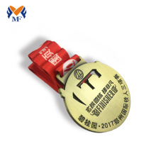 Best quality Low price for Running Race Medals Wholesale custom medals gold trophies and awards export to Guam Suppliers