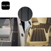 Melors EVA Faux Teak Composite Sheets Cheap Decking