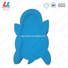 Animal soft massaging bath sponge