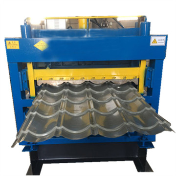 Three layers galvanized aluminum forming machine