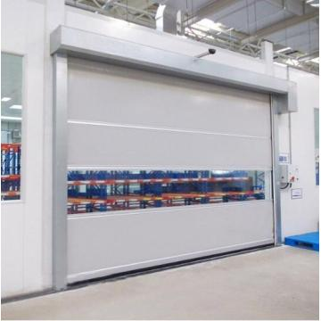 PVC fabric roll up fast speed door