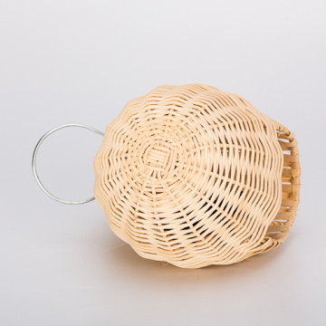 Percell Egg Shaped Large Rattan Bird Nest