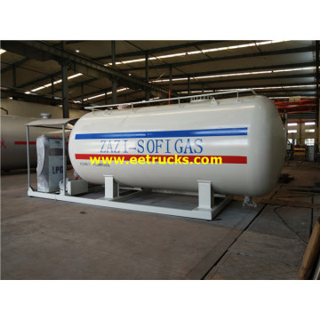 25000 Liters LPG Skid Filling Stations