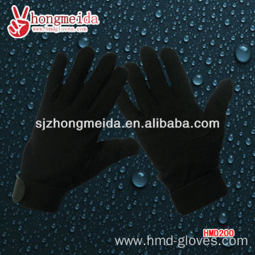 uniform marching bandpolyester black gloves