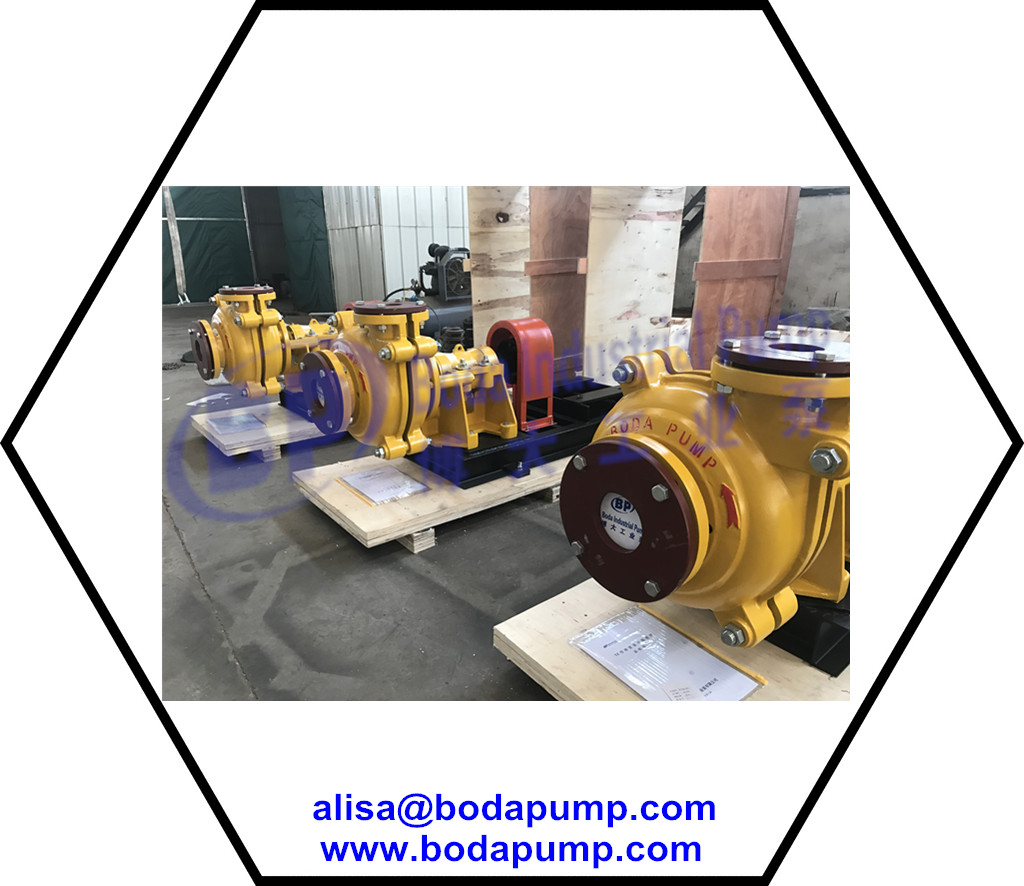 bare slurry pumps