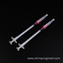 1ml luer lock sterilized plastic disposable syringe