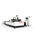 500w/1000w Stainless/Carbon Steel Metal Fiber Laser Cutter