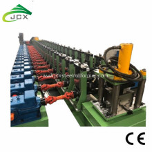 Metal steel profile door frame roll forming machine