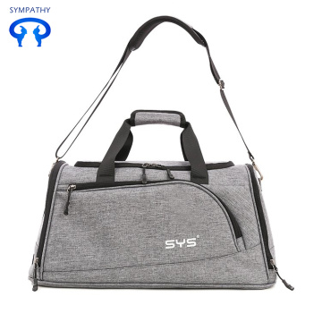 Waterproof belt shoes gym bag exercise bag