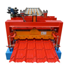 Glazed Steel Sheet Roof Tile Roll Forming Machine