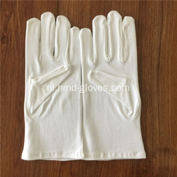 Usher White Gloves Cotton