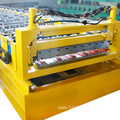 Bottom price roof tile hydraulic automatic pump roll forming machine