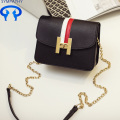 Small square chain bag with single shoulder bag