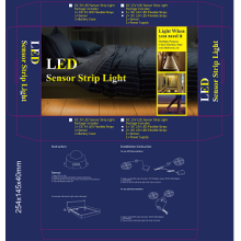 OEM Supplier for Led Strip Sensor Bed Light Double Motion Bed LED Sensor Bed Light supply to Mayotte Manufacturers
