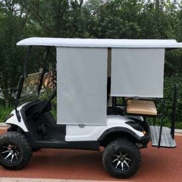 4 seat electric fashion golf cart