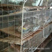 industrial breeding rabbit cage (anping factory)3 or 4 layer