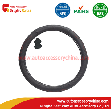 Hot selling attractive for Leather Steering Wheel Wrap Steering Wheel Cover Leather Wrap export to Palestine Exporter