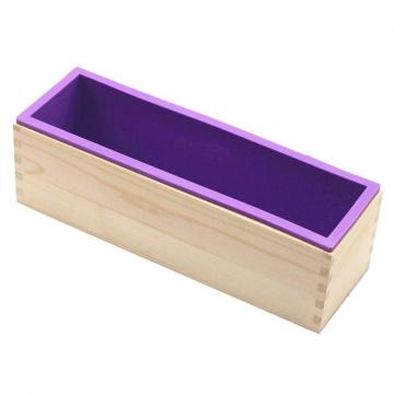 42oz Soap mold Rectangular Loaf with Wood Box