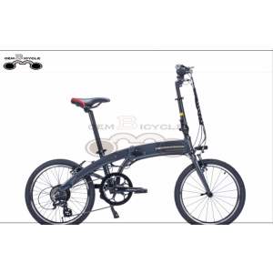 custom logo 36v 250w LCD display folding e bike