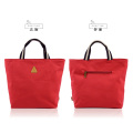 Pure color leisure bag shopping bag